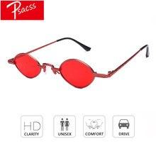 270cc5813 Psacss 2018 Steampunk De Metal Pequeno Quadro Mulheres/Homens Óculos de Sol  Designer de Marca Famosa Liga Pernas Óculos oculos d.
