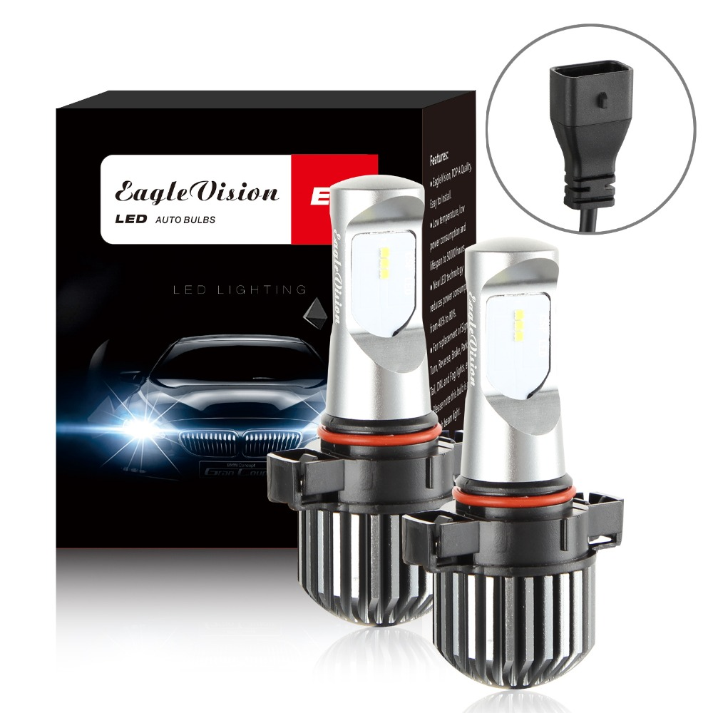 H11 H8 H9 PS24W H16 5202 P13W 9006 HB4 9005 HB3 20W CSP LED Headlight Conversion Kit High Low Beam Fog Light Bulb 6000K-in Car Headlight Bulbs(LED) from Automobiles & Motorcycles    1