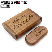 POWERONE  wooden usb Flash Drive pendrive 4gb 8gb 16gb 32gb 64gb