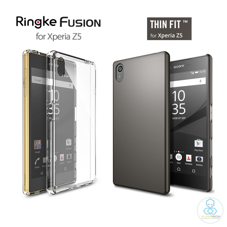 bilder für RINGKE Fusion Fall für Xperia Z5 Aliantech Dünne Fit Reihe Hochwertiger Shell Fall für Sony Xperia Z5 (5,2 zoll)