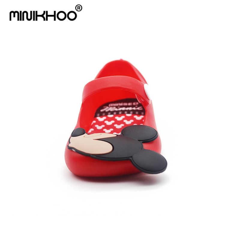 fbe88706a ... Mini Melissa Mickey 13-15.5cm Girls Sandals 2018 Summer Girls Sandals  Cute Girls Shoes ...