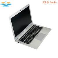 13,3 дюймов процессор Intel Core I7 7500U ультратонкий ноутбук ПК с предустановленной win10 Тетрадь компьютер