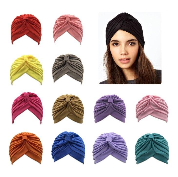 Hat Girl Women 100pcs Headwear Hijab Underscarf Elastic Muslim Adjustable Stretchy Lady