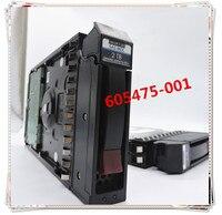 Neue für 605475 001 AW555A 604081 001 P2000 2T SAS 3 5 7 2 K 3 jahre garantie-in Ladegeräte aus Verbraucherelektronik bei