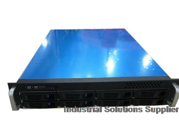 2u industrial computer case 2u server computer case 2u hot pluggabel computer case 8 hard drive