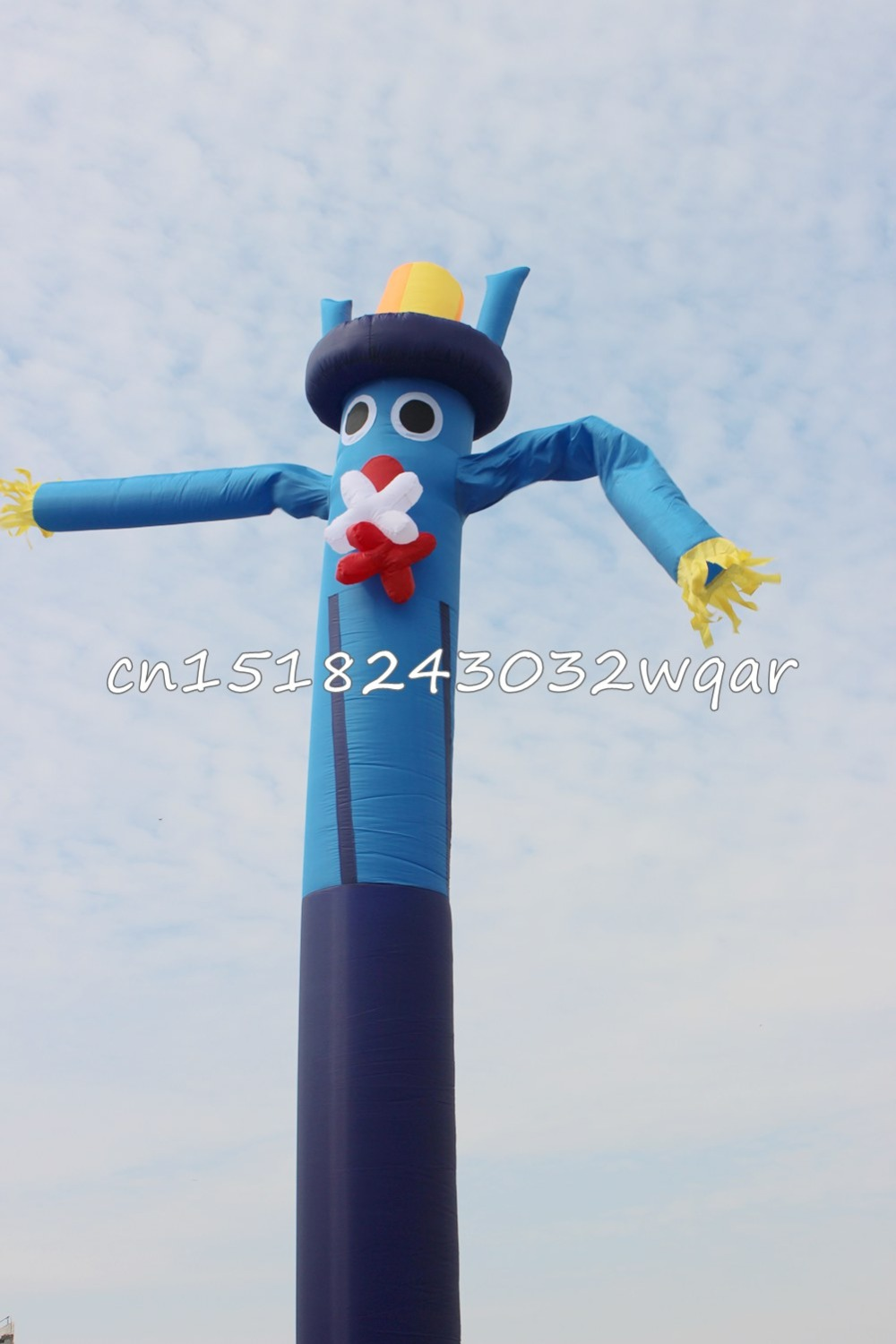 Inflatable Toys delivery 6M 20FT Inflatable Tube Sky Dancer Air Dancer FC-01 NO Blowers цена и фото
