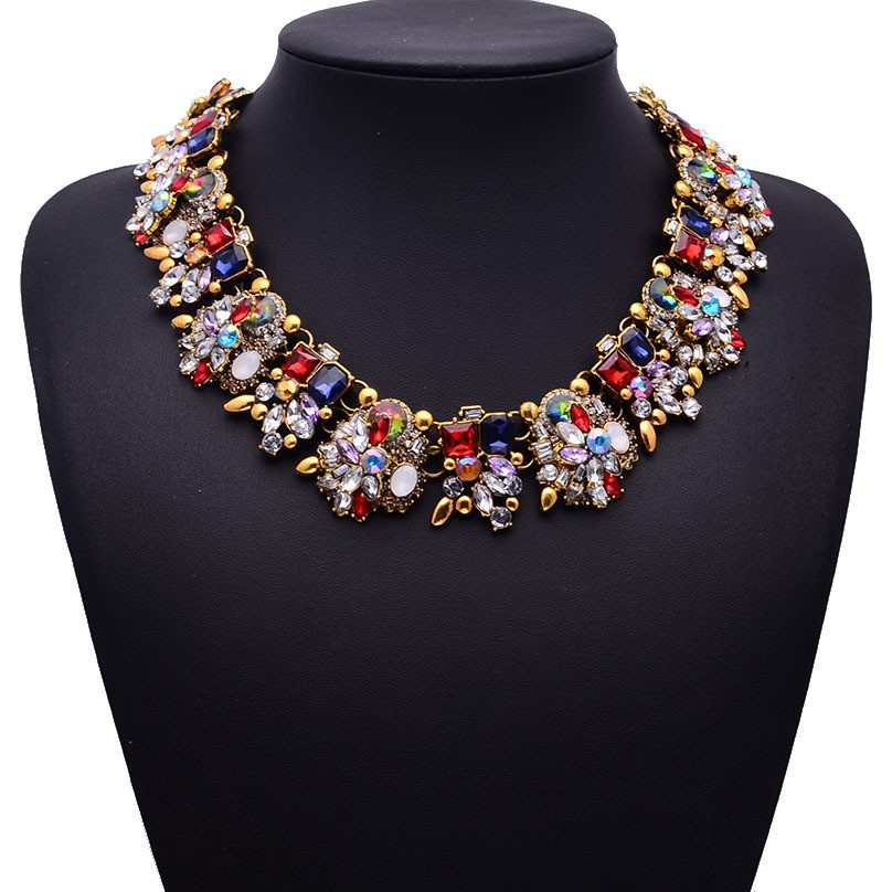 HTB1Bq7NaJjvK1RjSspiq6AEqXXaw - Miwens Collar Za Necklaces Pendants Vintage Crystal Maxi Choker Statement Silver Color Collier Necklace Boho Women Jewelry