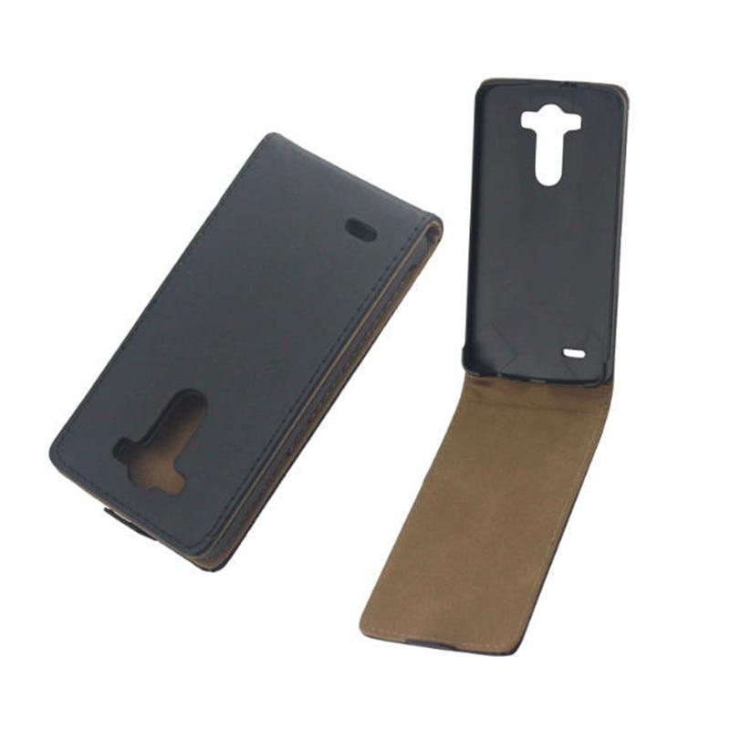 Vertikal PU-läder Flip Case Fundas Capa För LG Optimus G3 D855 D850 - Reservdelar och tillbehör för mobiltelefoner - Foto 1