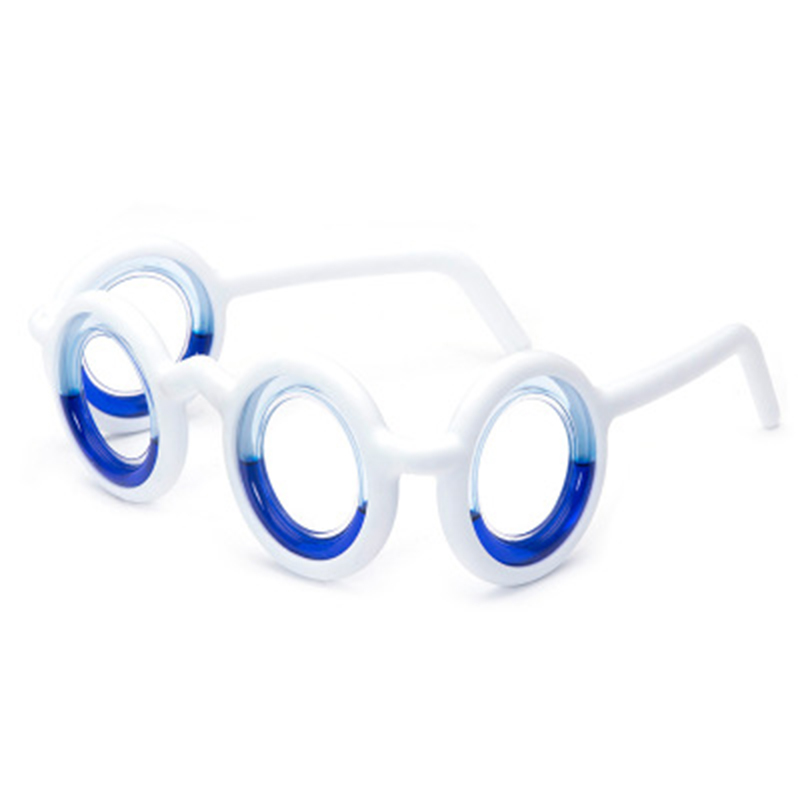 Mew Peculiar 2019 Physical Anti-dizzy Glasses Smart seasick airsick liquid Anti-giddy Eyeglasses Special Features Spectacles H9