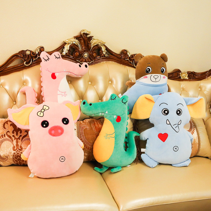 Toys & Hobbies Large Crocodile Plush Toy Plush Animal Yellow Duck Soft Toy Dinosaur Pillow Cartoon Plush Dolls Childrens Toy Birthday Gift