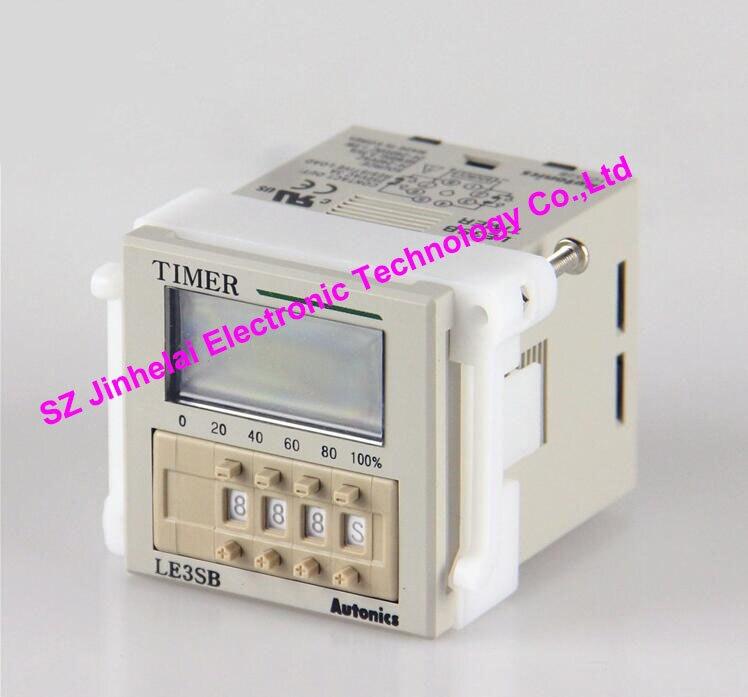 LE3SB Authentic original AUTONICS Timer relay 100% authentic original le4s autonics time relay timer