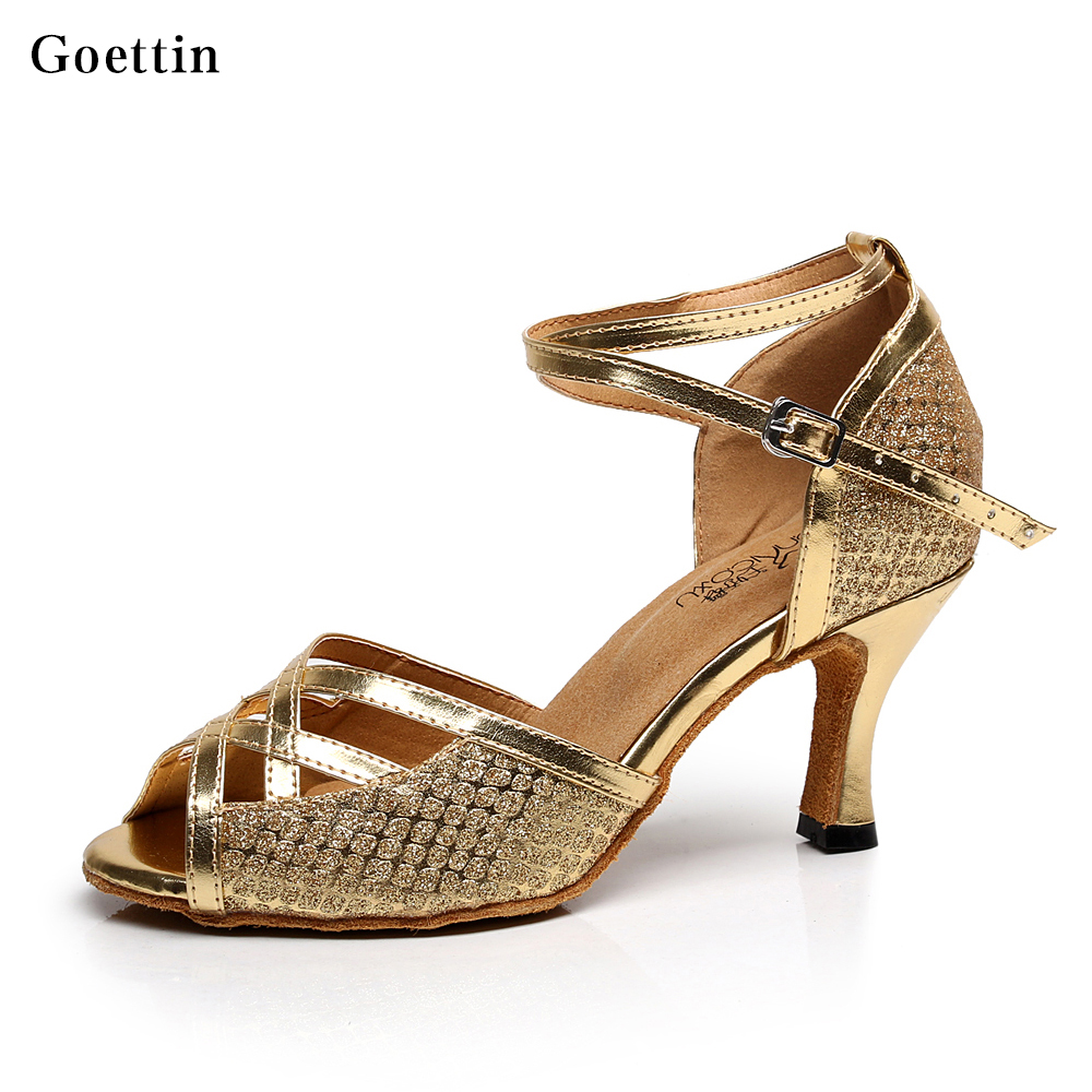 Baru Kedatangan Kualitas Tinggi wanita Ballroom Tango Sepatu Dansa Latin sepatu dansa Rumba