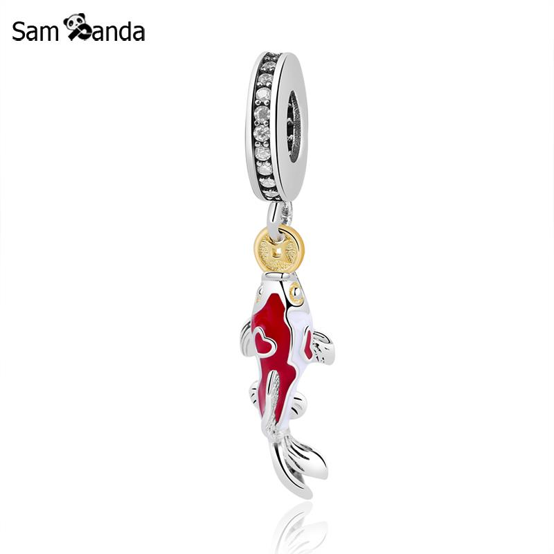 Pandora Jewelry Meaning: New Authentic 925 Sterling Silver Bead Charms Koi Lucky