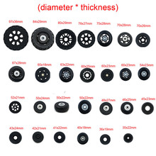 Replacement-Parts Wheels Suitcase Luggage for 360-spinner/Upright/Mute/.. 1-Pcs