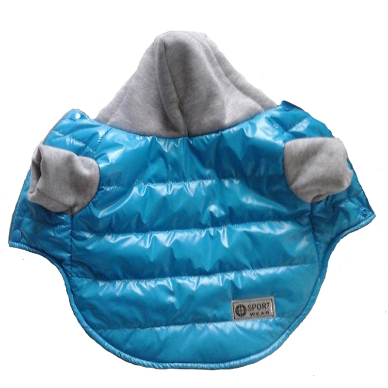 5 Colors Winter Pet Dog Jacket Coat Thickening Warm Puppy Dog Clothes With Hood Size XL