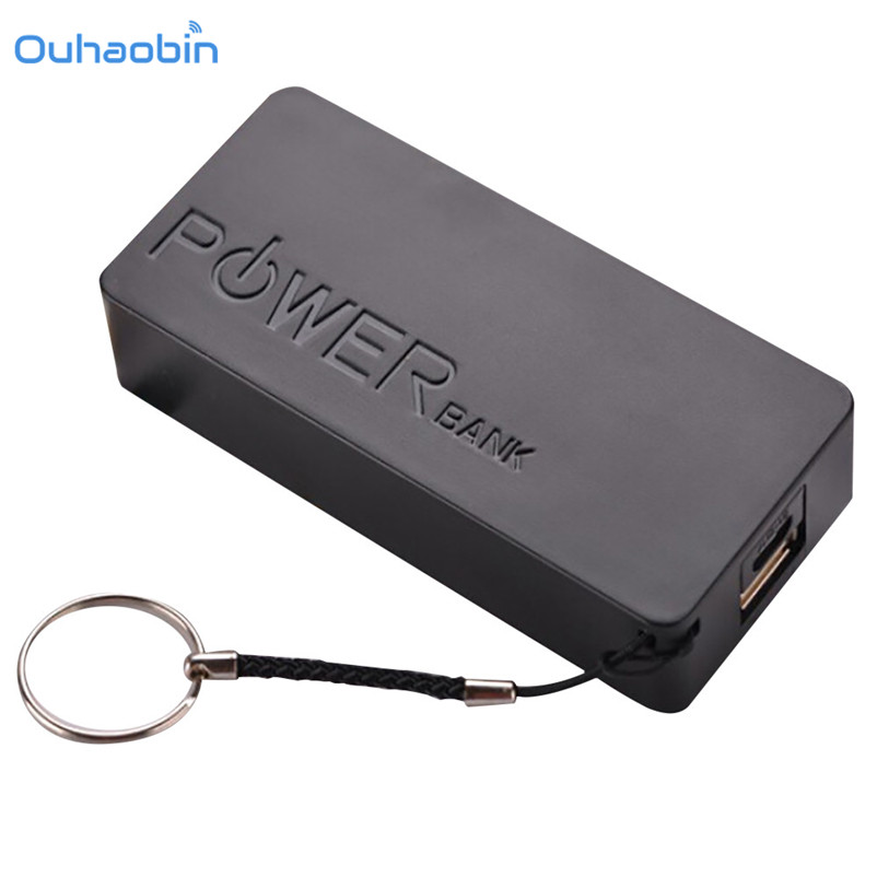 Ouhaobin High Quality 5V USB 18650 Power Bank Battery Box Mobile Phone Charger DIY Shell Case For iphone 6 Plus S6
