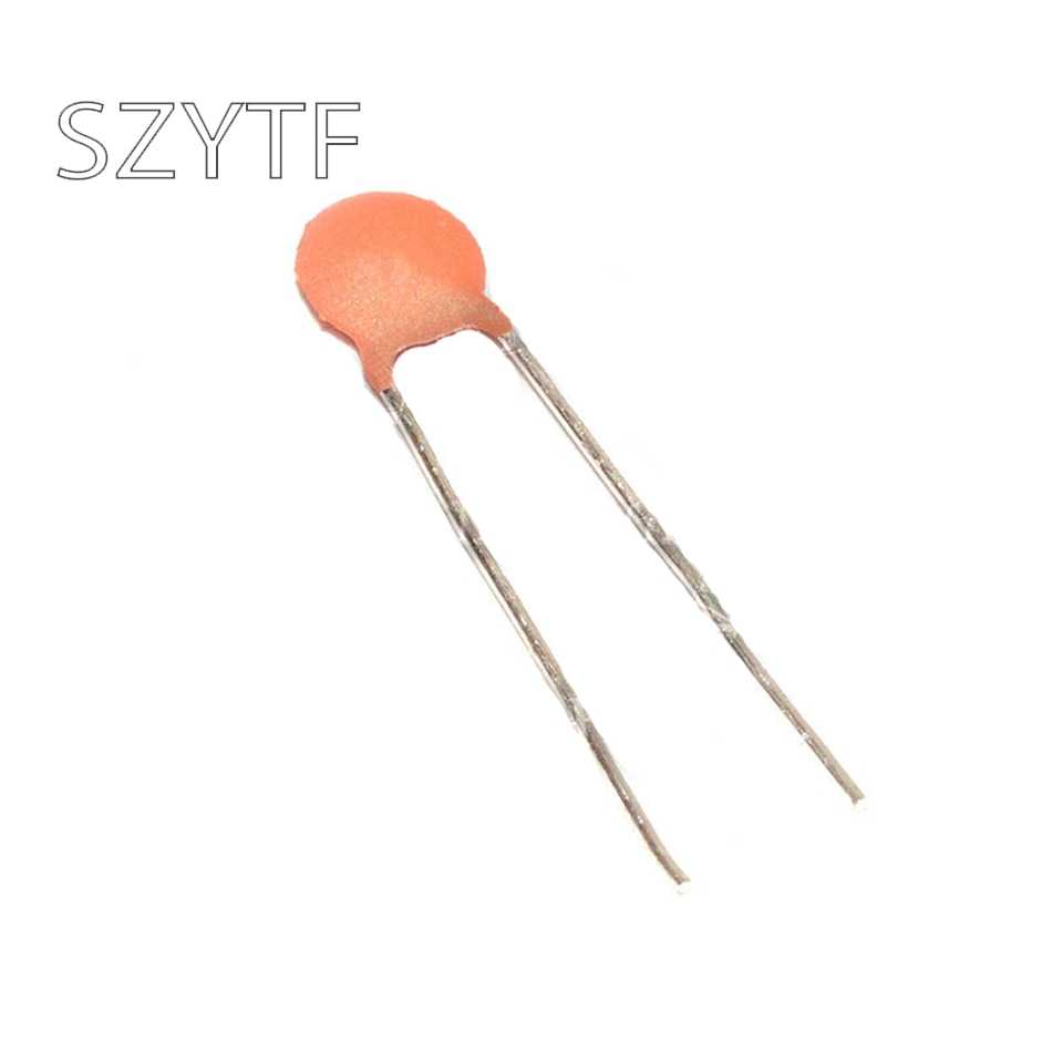 10PCS Multilayer Monolithic Ceramic Capacitor 104 100NF 50V ±20/% 5.08MM