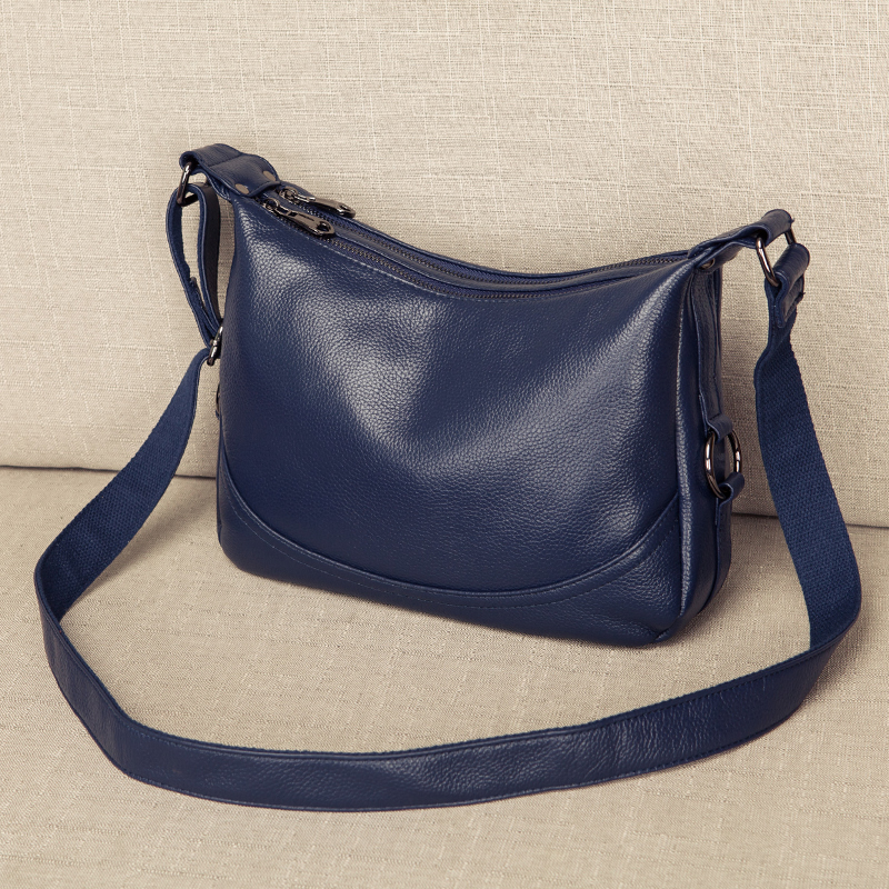 Prawdziwej skóry torba kobieca panie Crossbody torba na ramię luksusowe torebki moda torba damska duża torba materiałowa sac głównym w Torebki na ramię od Bagaże i torby na  Grupa 3