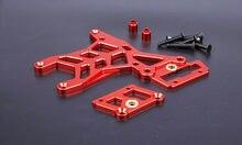 Baja liga cnc traseiro placa de conexão superior conjunto para 1/5 hpi rovan km baja 5b 5 t 5sc rc peças gás