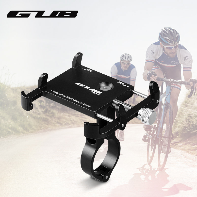 GUB PR02 Rotating Bike Phone Holder For 3.5-6.2inch Smartphone 360 Degree Rotatable GPS Bicycle Phone Stand Motorcycle Support