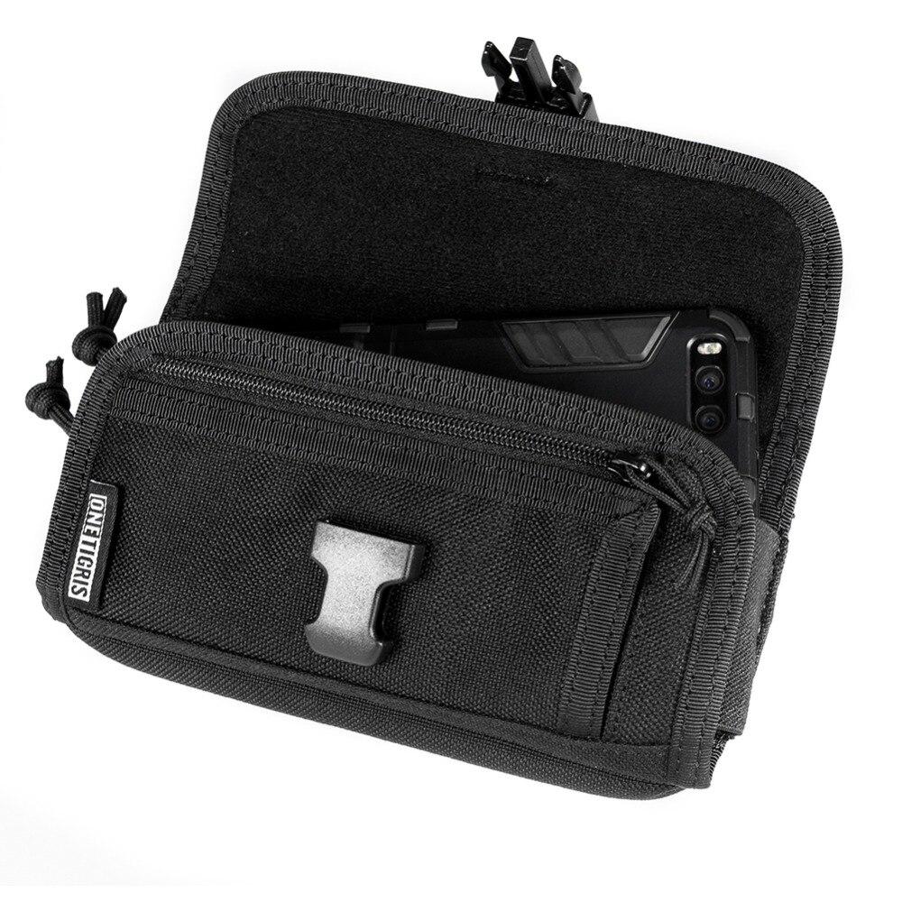 Onetigris Wallet Cellphone-Case-Bag Phone-Pouch Horizontal Molle Outdoor Nylon Durable