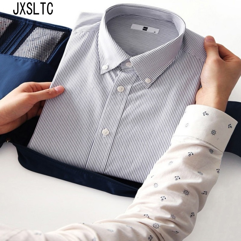 JXSLTC New Travel Vattentät Multifunktionellt Underkläder Tie Storage Handväska Träskjorta Kläder Arrangörsförvaringsväska