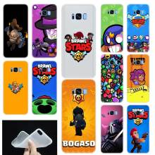 brawl stars Pattern Soft TPU Silicone Phone Case Cover For