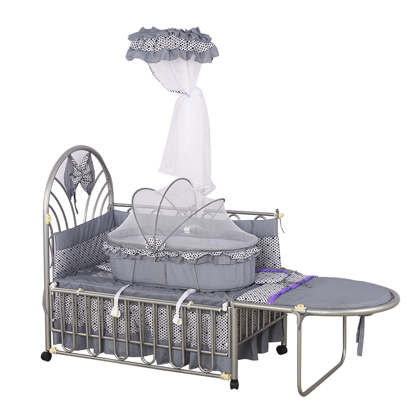 Duchess baby carriage Newborn baby multi-function baby bed baby shaker environmental tasteless iron cot my american duchess