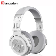 Langsdom Wire/Wi-fi Bluetooth Headphone Noise Cancelling Headphones Stereo Bass HiFi Headset with Mic for Music