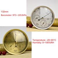 Wall Hanging Thermometer Hygrometer Barometer Temperature Humidity Meter Pressure Gauge Air Weather Instrument
