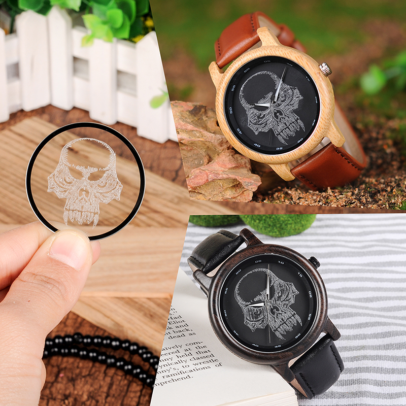 BOBO BIRD Luxury New Design Wooden Bamboo Wristwatches for Men and Women Ideal Genuine Leather Quartz Watches Gifts Timepieces bobo bird v o29 top brand luxury women unique watch bamboo wooden fashion quartz watches