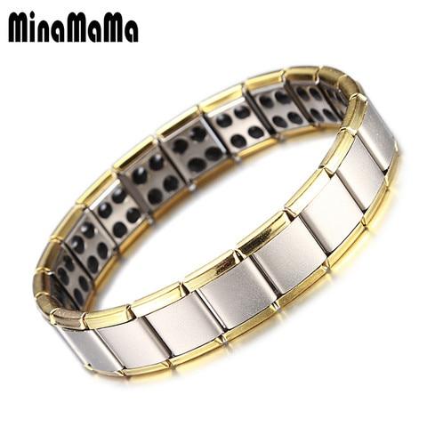 Men's Jewelry Gold Stainless Steel Element Tou Bracelet