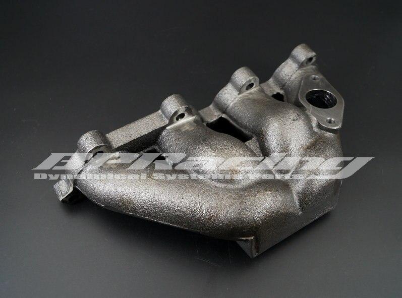 Collecteur d'échappement turbo en fonte pour Honda Civic Ek6 Ek9 D15 D16 T3/T4 1996-2000