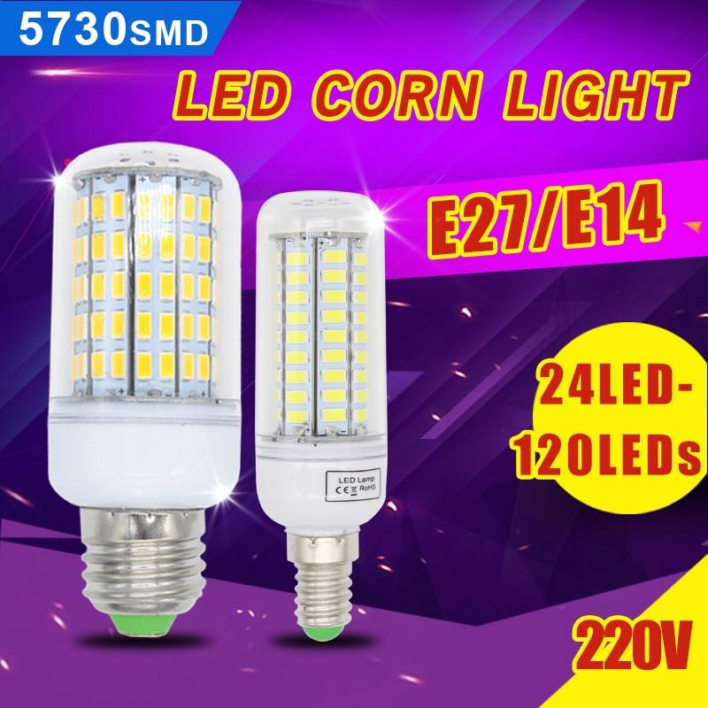 Bombillas led bulb e27 smd 5730 lamparas led light g9 24 for Bombillas led g9