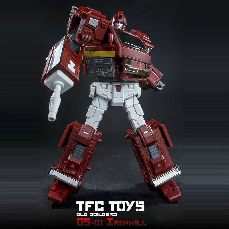 (IN STOCK) Toy TFC Toys TF Old Time Series OS-01 Ironwill Ironhide