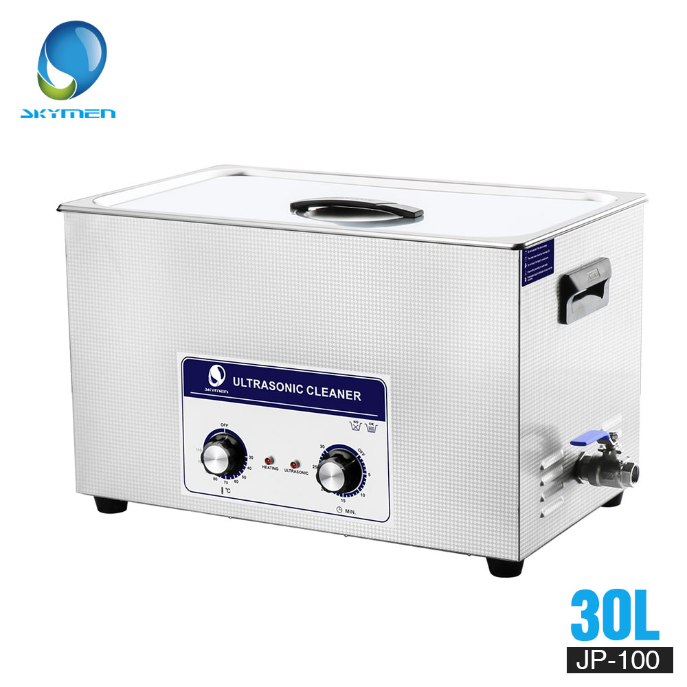 SKYMEN Ultrasonic Cleaner 30l Industry Ultrasonic Cleaner 30L 600W for cleaning Auto parts