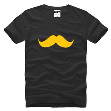 funny spoof creative bearded mustache Printed Mens Men T Shirt Tshirt 2015 Short Sleeve Cotton T-shirt Tee Camisetas Hombre