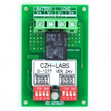 Low Voltage Disconnect Module LVD, 24V 10A, Protect/Prolong Battery Life.