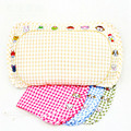 Laxury fashional ramie buckwheat healthy harmless natural environmental child pillow size is 26*46*5cm baby pillow