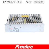 New Arrival 120W Qual Output DC Switching Power Supply With Ce RoHS Approval Q 120B