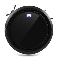 Robotic Vacuum Cleaner CLEANMATE QQ9 Black 3D Map Navigation Memory Function With Camera Dry Wet Mop