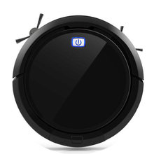 Robotic vacuum cleaner CLEANMATE QQ9 black 3D map navigation memory function with camera dry wet mop water tank flexible brush