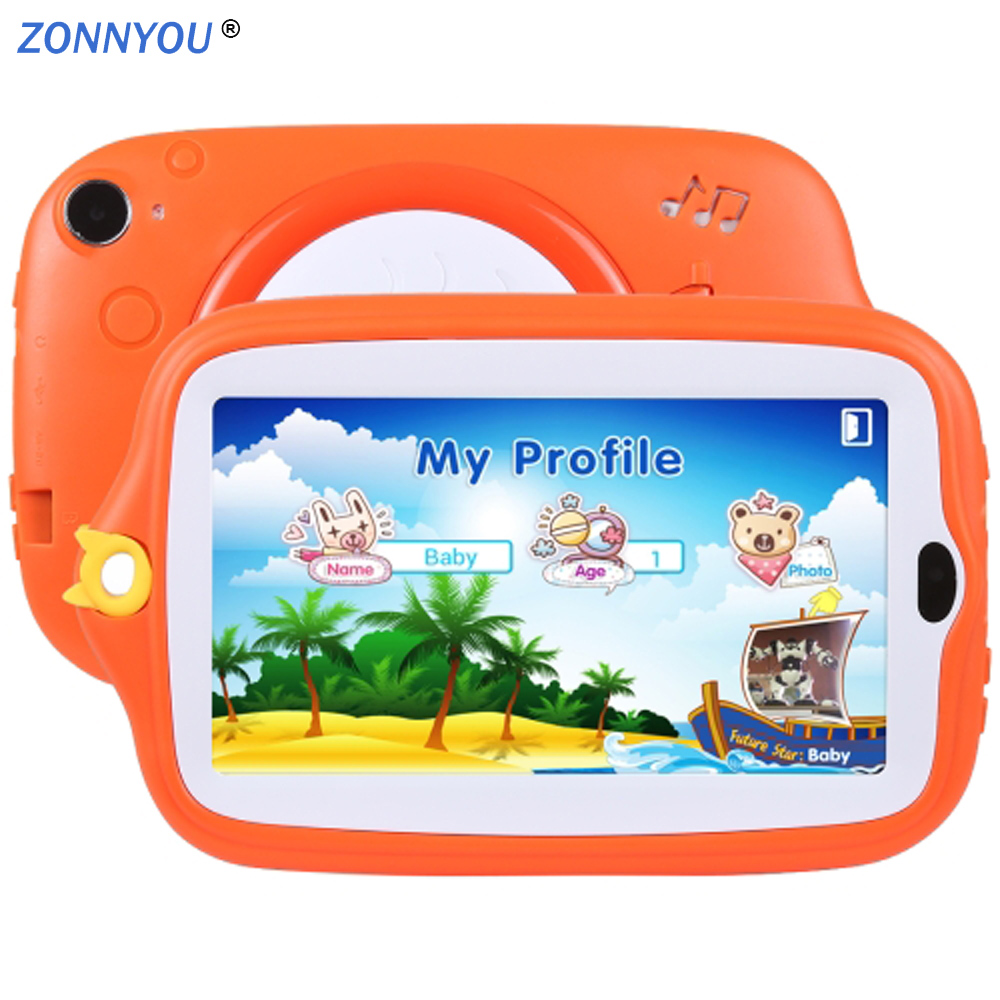 Computer & Office Earnest 7.0 Inch Kids Tablet Pc Android4.4 Quad Core 512mb/8gb Wi-fi Tablet Baby Games Designed For Children With Gift Box