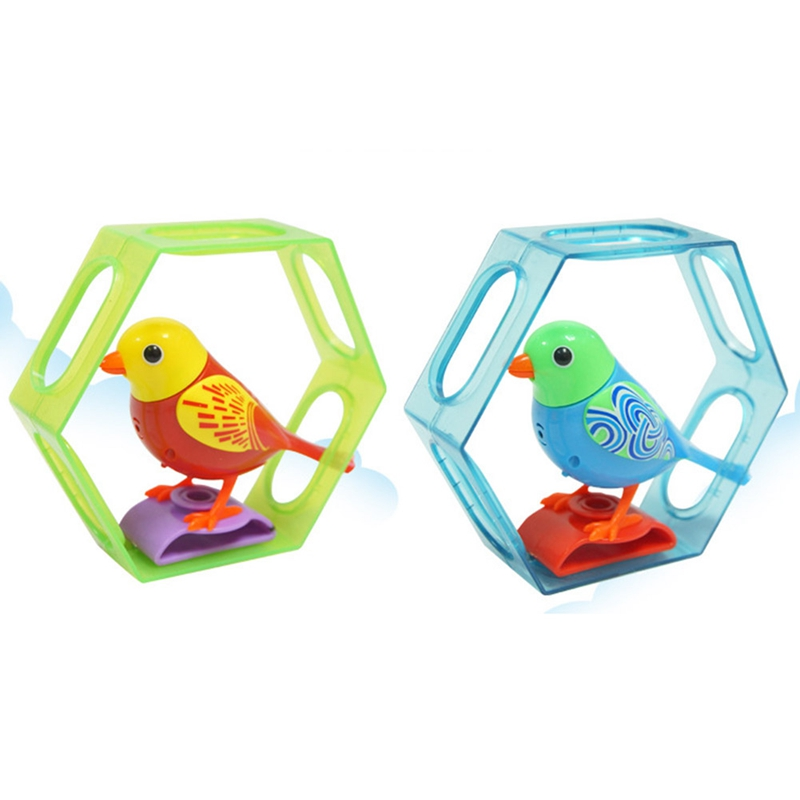 Singing Sound Birds Pets Sing Solo Intelligent Whistle Music Toys Digibirds  Music Bird For Kids Children Electric Toy