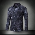 Men Tactical Camouflage Shirt Summer Autumn Casual breathable Quick Drying SWAT Police Army Wild Travel