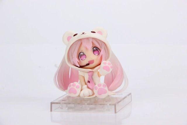 Аниме фигурка Хацуне Мику Розовый Мишка 2