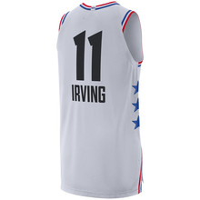 New 2019 All Star Games Kyrie Irving White black basketball Jersey Custom  Name Stitched(China 9cf432b85