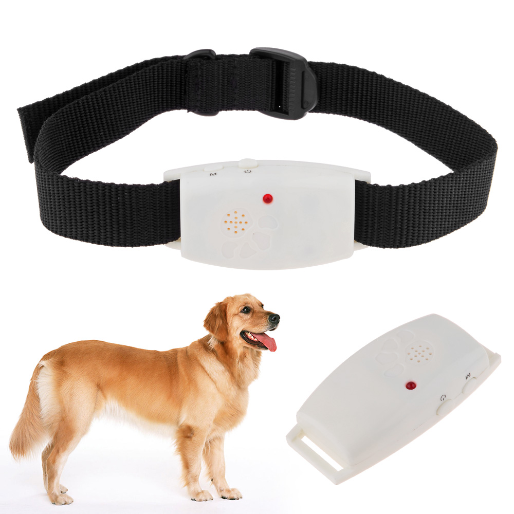Dog Collar Pet Supplies Ultrasonic Dog Repeller with LED Indicator Repells Flea Ticks and Mosquito mascotas cachorro perros