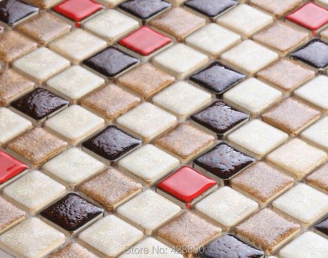 Mosaico porcellanato pavimento del bagno specchio backsplash cucina