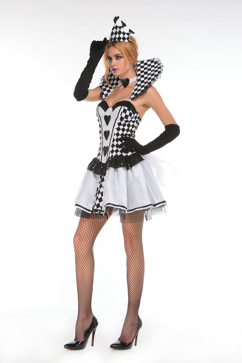 Playing Card Queen Mardi Gras Adult Costume